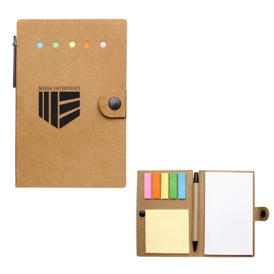 Small Snap Notebook With Desk Essentials