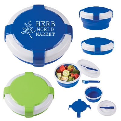 Silicone Collapsible Lunch Set