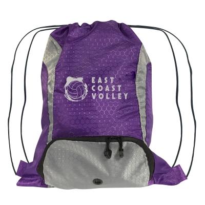 Purple Drawstring Sports Pack