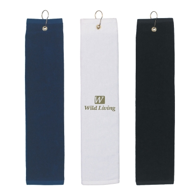 Folded Golf Towel